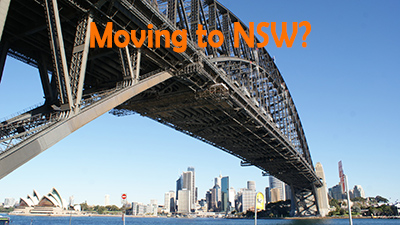 Are you moving from Brisbane to Sydney?