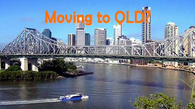 Are you moving to Brisbane from Sydney or Melbourne?