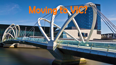 Are you moving from Brisbane to Melbourne?